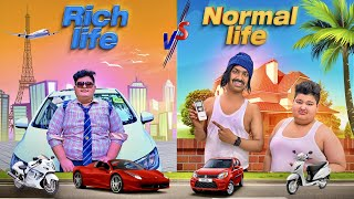 Rich Life vs Normal Life | Kaptain Kunwar