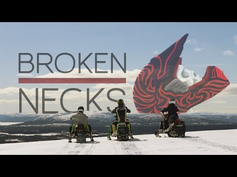 BROKEN NECKS 2014 (Snowmobile Movie)