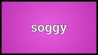 Soggy Meaning