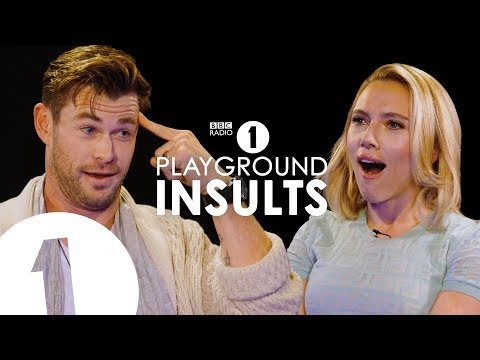 The Man Cave - Chris Hemsworth and Scarlett Johansson Insult Each Other