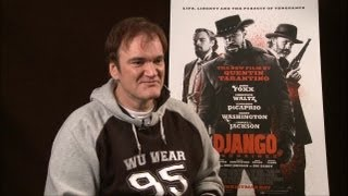 quentin tarantino django unchained interview with tribute