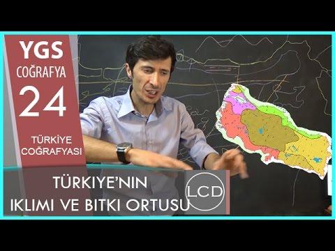 Türkiye'nin İklimi Ve Bitki Örtüsü - YGS COĞRAFYA