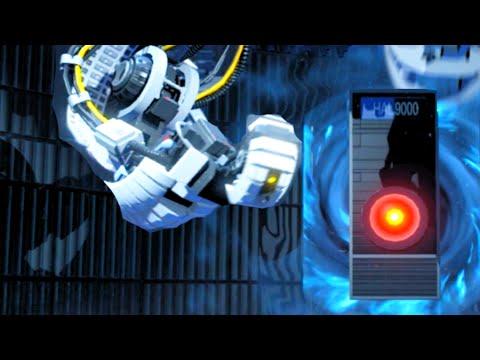 LEGO Dimensions Portal 2 GLaDOS vs HAL 9000 2001 a Space Odyssey