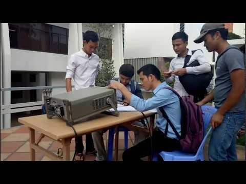 Testing Field in Royal University of Phnom Penh Zone (CJCC) - Photos