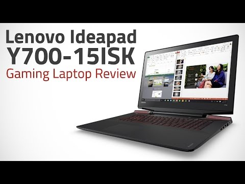 Lenovo Ideapad Y700-15ISK Gaming Laptop Review