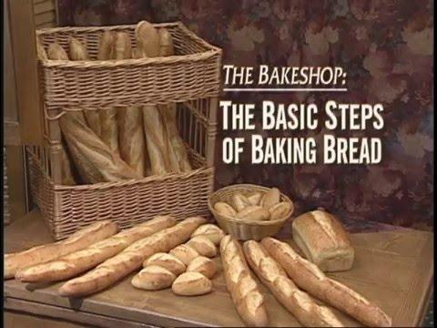 Basic steps of Baking Bread