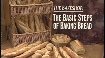 Basic steps of Baking Bread