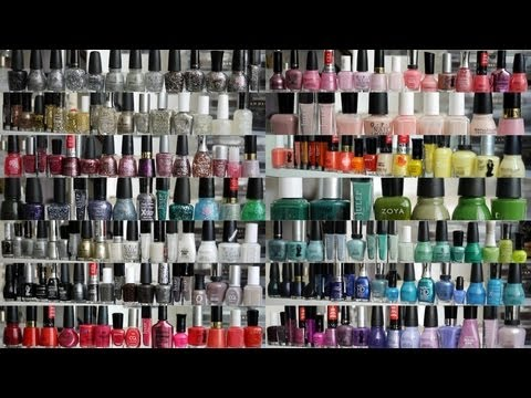My Nail Polish Collection And Storage