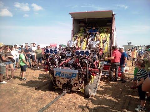 Chiarano 19 05 2018 Campionato Italiano di Tractor Pulling