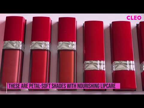 Swatching The New Rouge Dior Ultra Care | CLEO Beauty School | CLEO Malaysia