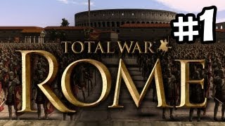 Rome: Total War - Walkthrough Part 1 (Imperial Campaign)