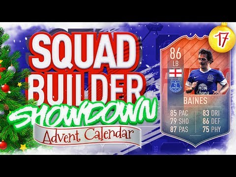 THE SQUAD BUILDER SHOWDOWN ADVENT CALENDAR!!! FLASHBACK LEIGHTON BAINES VS CURTIS!!! Day 17