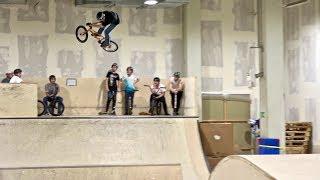 Meine erste Session in der P5 Skatehalle in Bremen