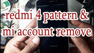 how to redmi 4 pattern unlock & mi account remove done with umt dongle