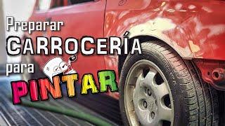 COMO PINTAR un COCHE #1 (Preparar CARROCERIA)   PetrolheadGarage   Spies Hecker