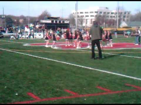 Jordan's Cheer Dance With Peewee A 2011