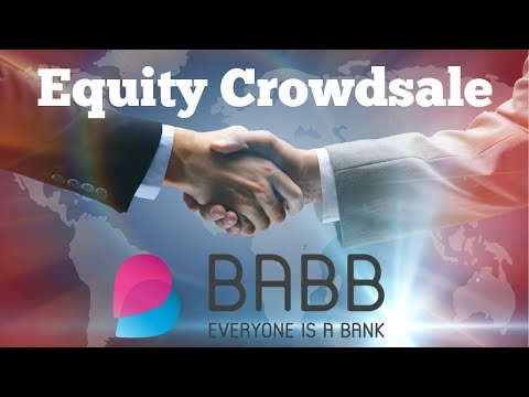 BABB Update - Equity Crowdsale - What is a Crypto Asset