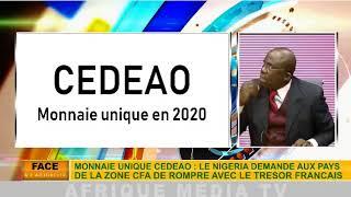 Pdt Banda Kani- SUR LA CDEAO FCFA LA SA MONNAIE UNIQUE