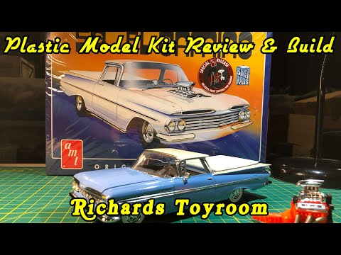 Plastic Model Kit Review & Build 1959 Chevy El Camino by amt
