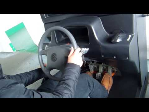 Pinetown driving simulator ,real exam road of the city Pinetown,South Africa