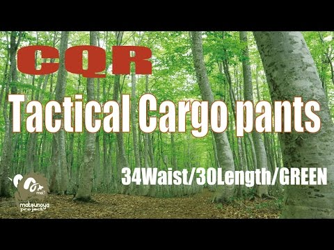 CQR Tactical Cargo Pants