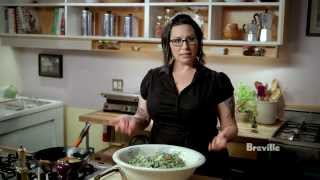 "Breville Presents ""make It Vegan"" Quinoa Caesar Salad: Isa Chandra Moskowitz"