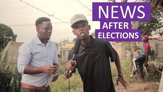 News after elections: service delivery protest (MDM Sketch Comedy)