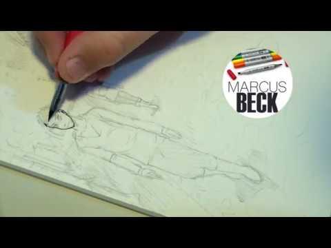 Inking Timelpase - Artefinal com bico-de-pena