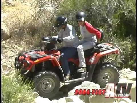 ATV Television Test  2004 Can Am Outlander Max XT