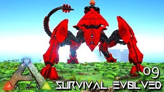 ARK: SURVIVAL EVOLVED - NEW ALPHA ENFORCER & BUFFOON MESO !!! | PRIMAL FEAR ISO CRYSTAL ISLES E09