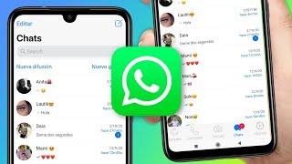 Nuevo WhatsApp Estilo IPhone en Android
