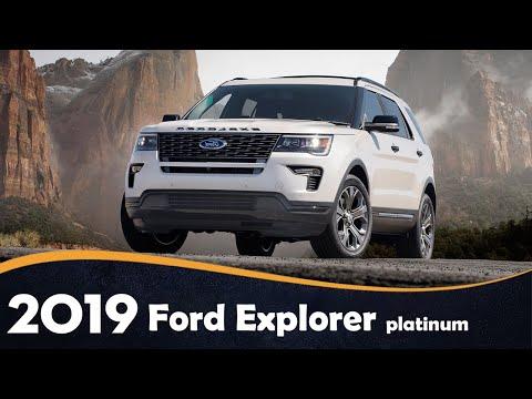 2019 Ford Explorer Platinum Review for sale || Ford Explorer concept