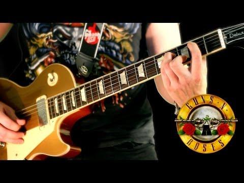 Guns N' Roses - So Fine *INSTRUMENTAL COVER* performed by Karl Golden
