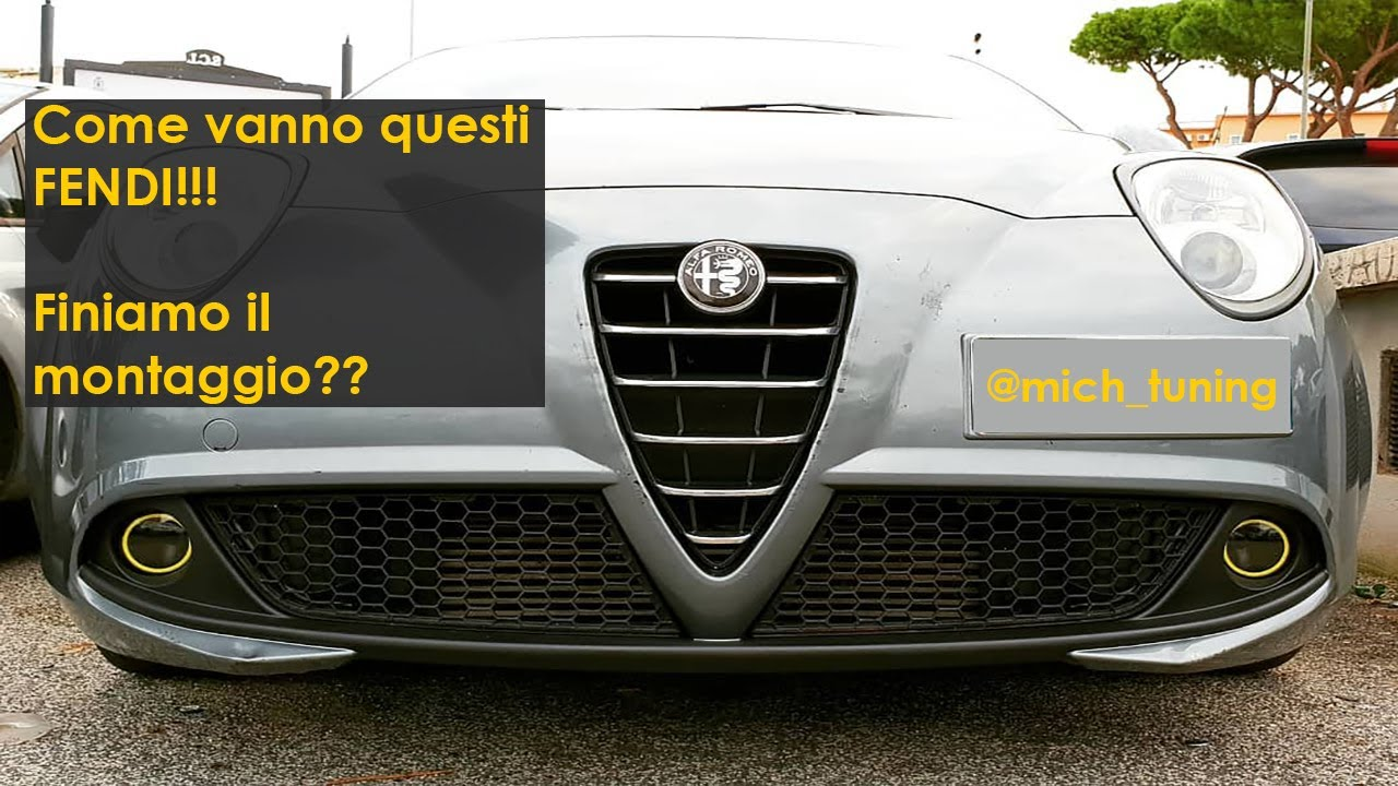 fendinebbia angel eyes  Angel Eyes Fendinebbia Alfa Romeo MiTo [How to Install AngelEyes in ...