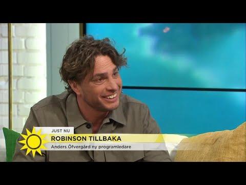 """Anders Öfvergård ny programledare för Robinson – """"Jag sålde in mig ganska hårt"""" - Nyhetsmorgon (TV4)"""