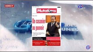 LA REVUE DES GRANDES UNES (Le stade Paul biya Fermé) DU JEUDI 04 AVRIL 2019 ÉQUINOXE TV