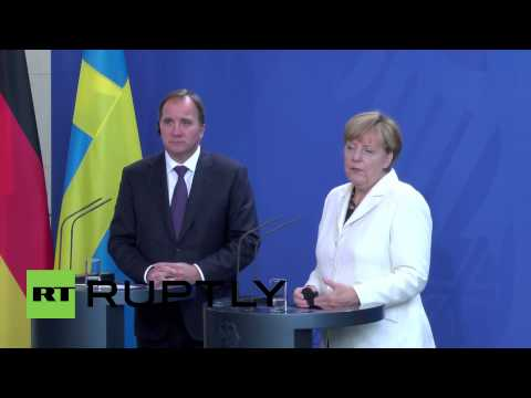 Germany: Merkel calls for European unity on refugee crisis