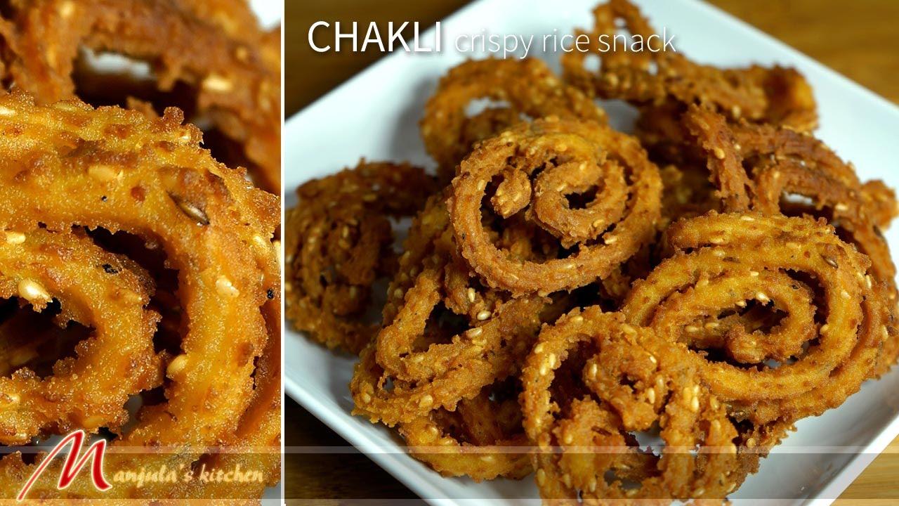 chakli indian vegan snack recipe by manjula youtube - Manjulas Kitchen 2