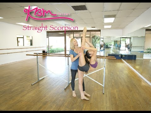 How to do a Straight Scorpion - YouTube