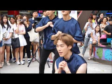 2016.07.17 VAV(브이에이브이) 일산 게릴라  'No Doubt' -  BARON 바론 영상