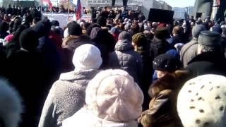 наезд на городецкого митинг против повышения тарифов жкх на 15% в Новосибирске 19 марта 2017