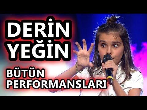 Derin Yeğin (Tüm Performanslar)   O Ses Çocuklar Türkiye 2016 Şampiyonu