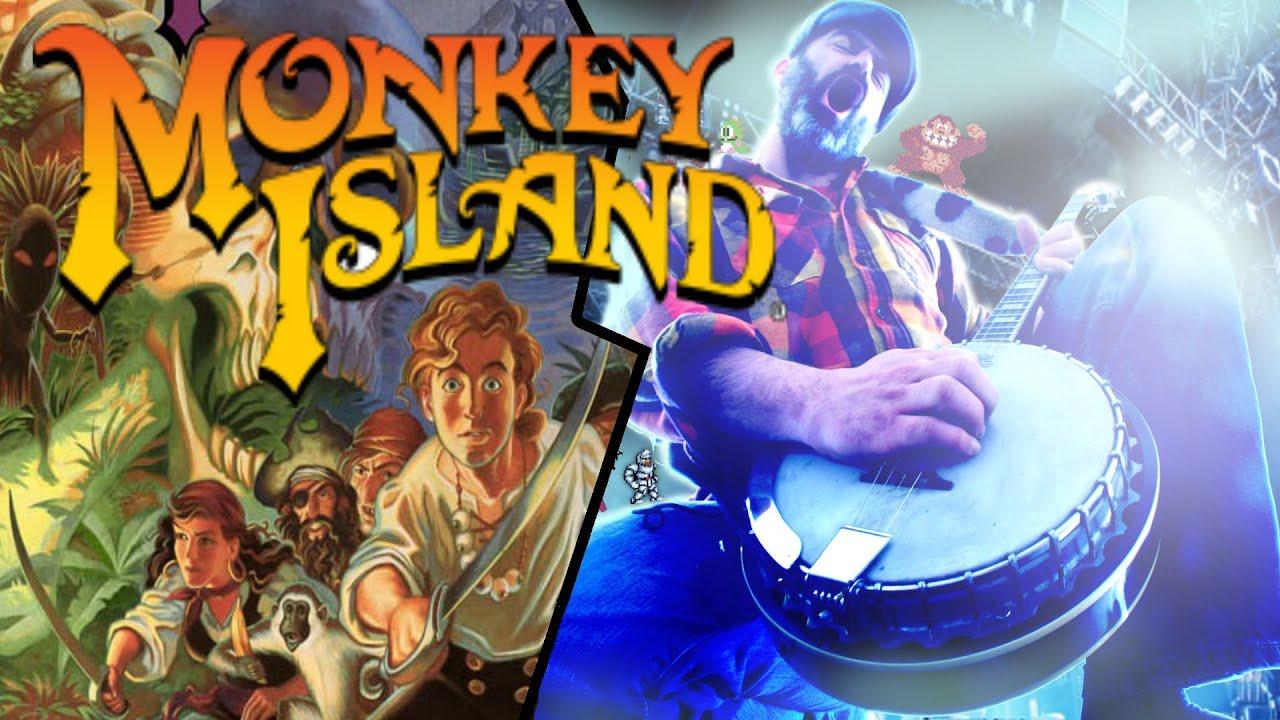 Monkey Island Main theme cover #monkeyisland