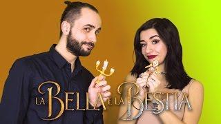 """LA BELLA E LA BESTIA - """"Stia con noi"""" (Be Our Guest) feat. LUNA    *Beauty and the Beast*"""