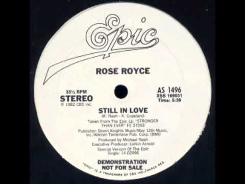 Rose Royce - Still In Love (DISCO MIX)