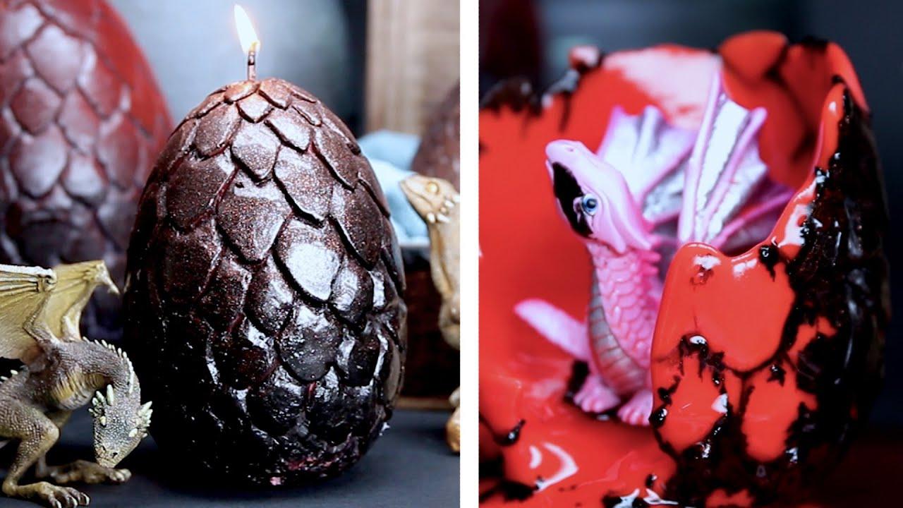 Surprise Dragon Egg Candles