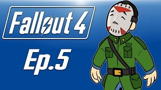 Delirious plays Fallout 4! Ep. 5 (I AM GENERAL DELIRIOUS!) Helping the Brotherhood!