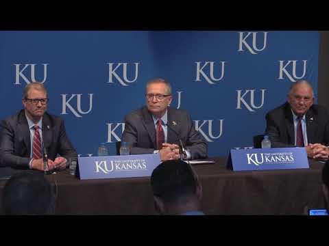 Jeff Long introduced as Kansas' athletics director