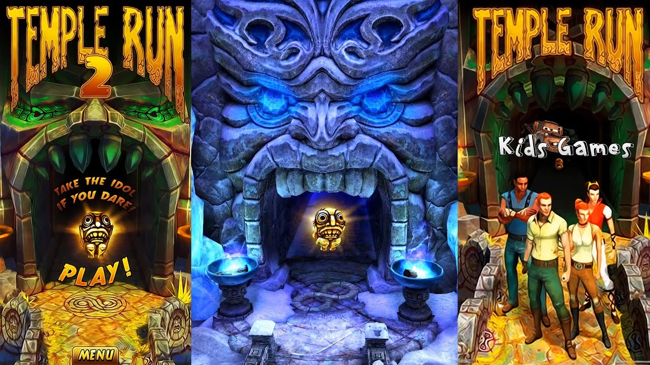 temple run 2 best game for children ios android youtube
