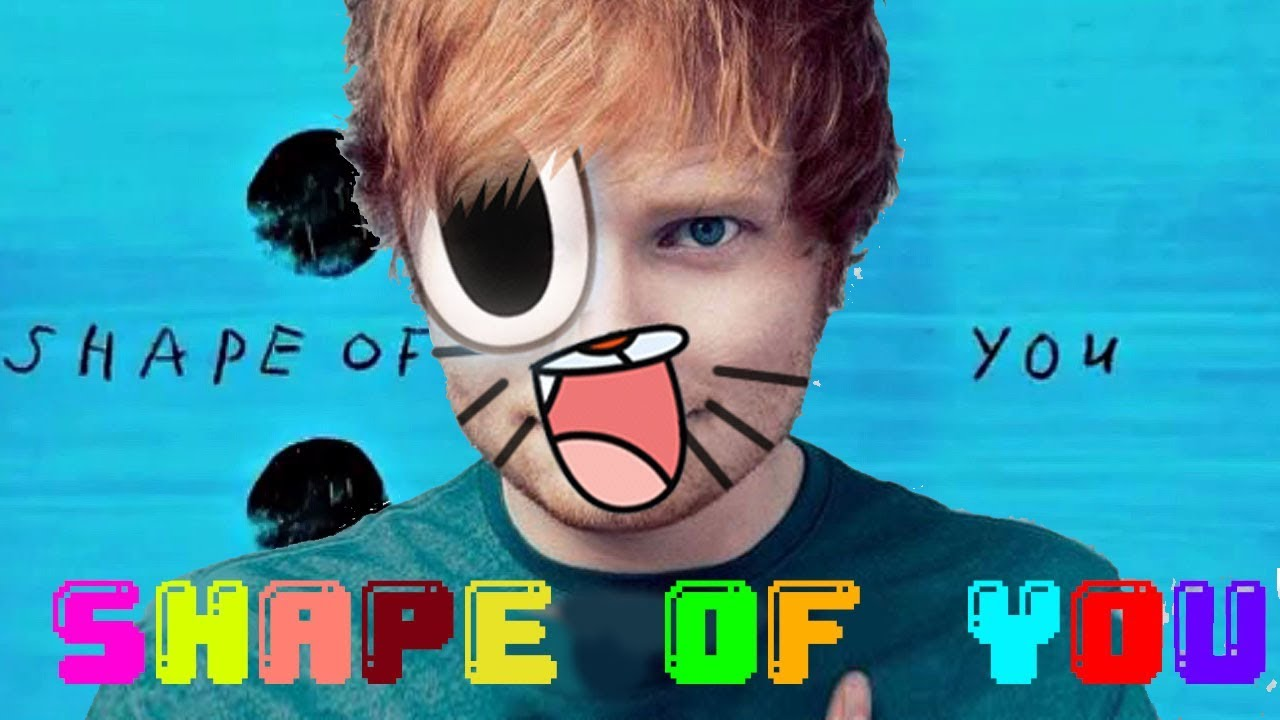 Gumball Sing Shape Of You By Ed Sheeran Official Cartoon Video